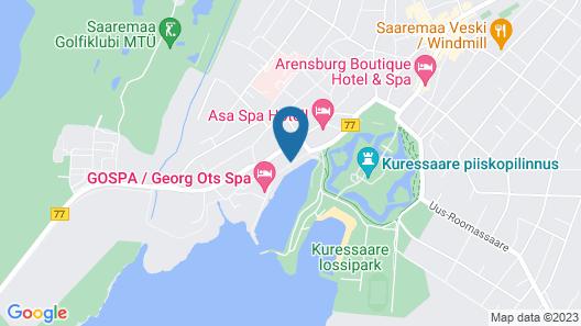 Spa Hotel Meri Map