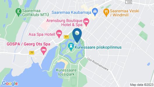 Ekesparre Boutique Hotel Map