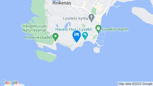 Strandflickornas Havshotell Map