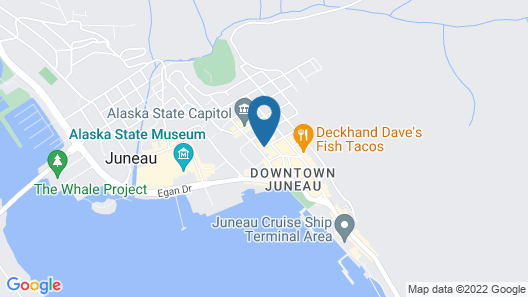 Silverbow Inn Hotel & Suites Map