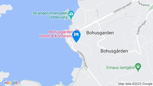 Bohusgården Hotell & Konferens Map