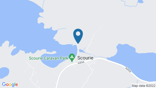 Scourie Lodge B&B and Gardens Map