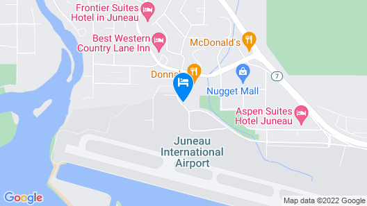 Extended Stay America Suites Juneau Shell Simmons Drive Map