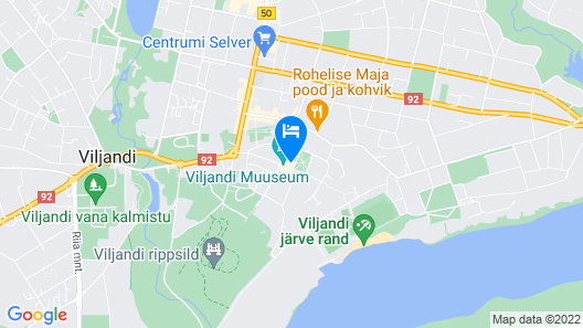 Park Hotell Viljandi Map