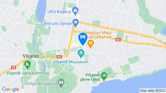 Grand Hotel Viljandi Map