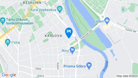 Aleksandri Hotel Map