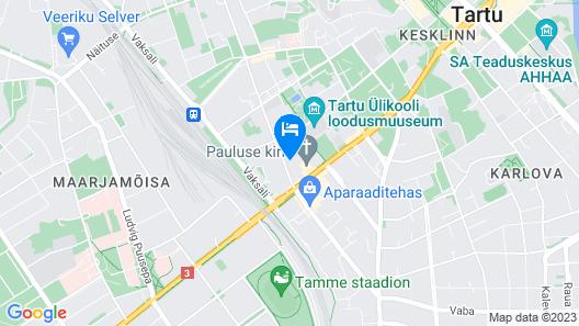 Looming Hostel Map