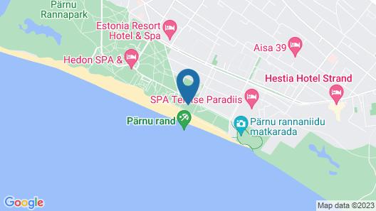 Rannahotell Map