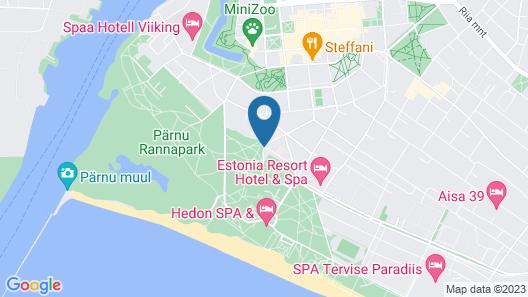 Estonia Medical Spa & Hotel Map