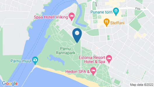 Villa Ammende Restaurant & Hotel Map
