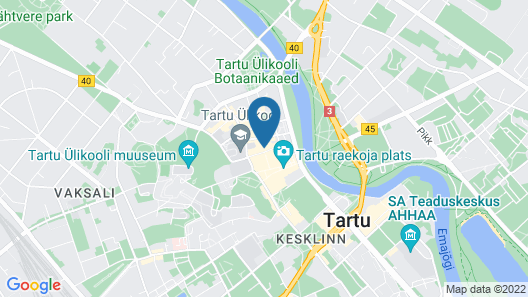 Hotel London by Tartuhotels Map
