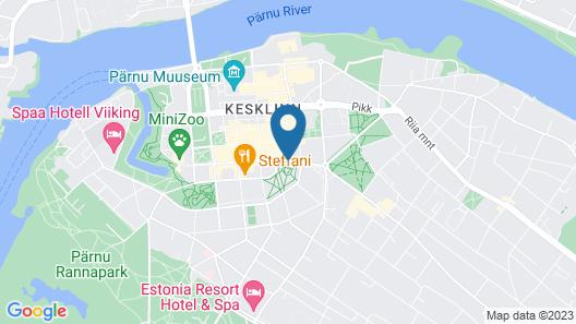 Koidulapark Hotell Map