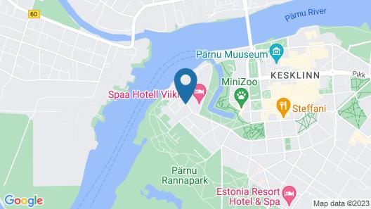 Carolina Hotel Map