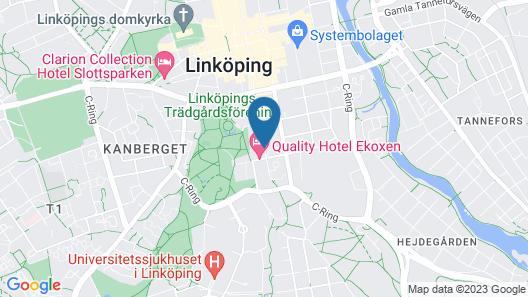 Quality Hotel Ekoxen Map