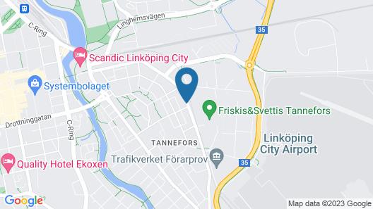 Tannefors Företagsbostäder Map