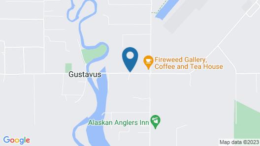 Gustavus Inn at Glacier Bay Map