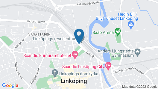 Park Hotel Linköpings Fawlty Towers Map