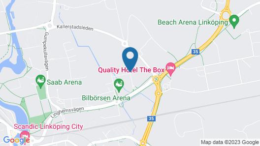 ApartDirect Linköping Arena Map