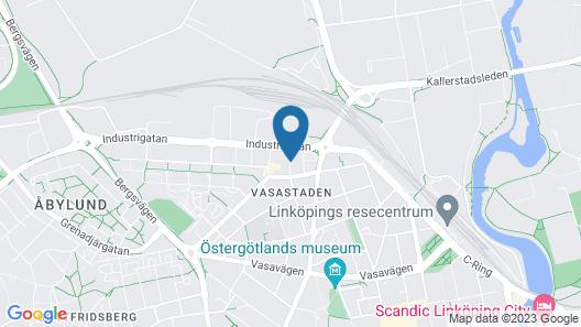 ApartDirect Linköping Vasastaden Map