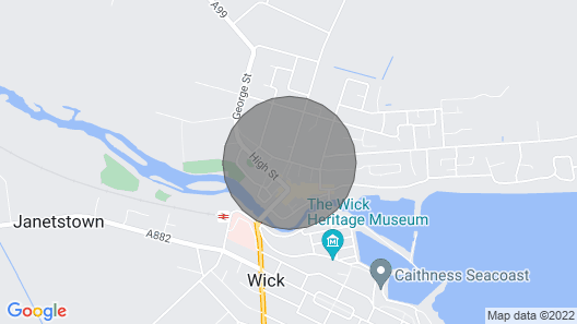 2 bedroom accommodation in Wick Map