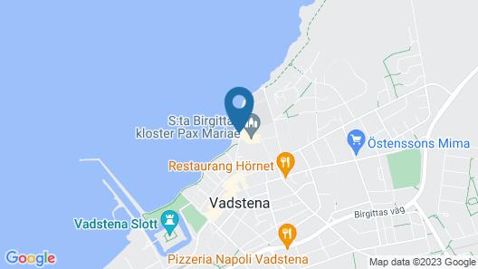 Vadstena Klosterhotel Map