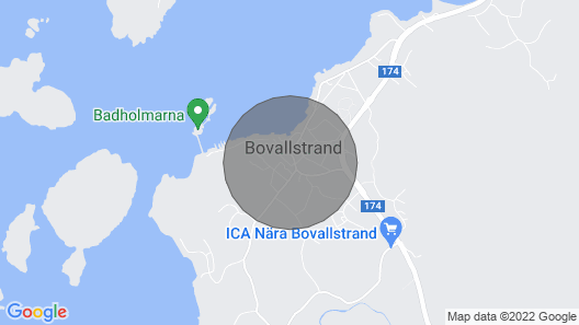 4 Person Holiday Home in Smögen Map