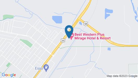 Best Western Plus Mirage Hotel & Resort Map