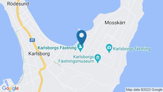 Karlsborg B&B och Vandrarhem Map