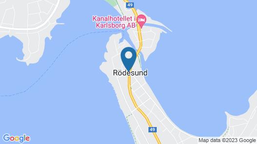 Hotell Rödesund Map