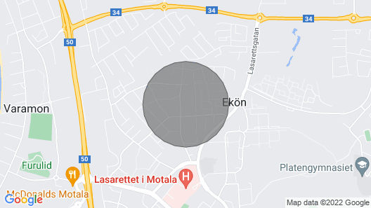 5 Bedroom Accommodation in Motala Map
