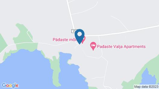 Padaste Manor Map