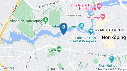 Pronova Hotell & Vandrarhem Map
