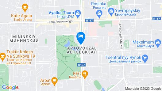 Four Elements Kirov Map
