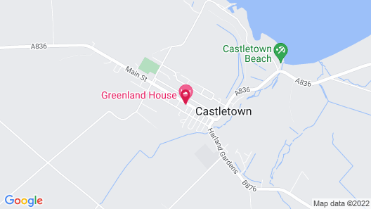 Greenland House Bed and Breakfast Map