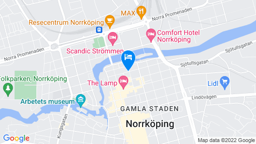 First Hotel Central Map