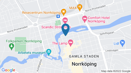 Strand Hotell Map