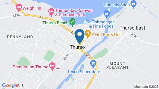 Muthu Royal Thurso Hotel Map