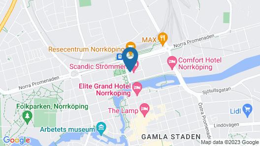 Scandic Strömmen Map