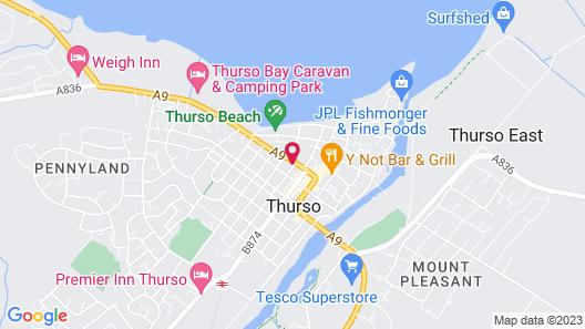 MURRAY HOUSE B&B Map