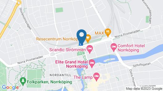 Centralstationens Vandrarhem Map