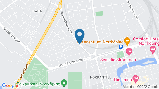 Hotell Nordic Map