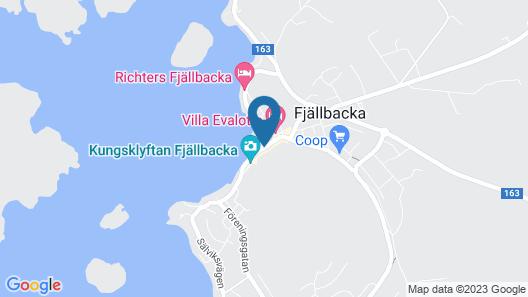 Bryggan Fjallbacka - Near Fjallbacka Golf Club Map