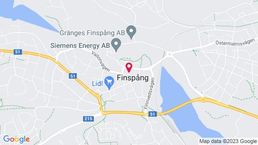 Hotel De Geer Map