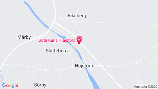 Göta kanal Hajstorp Map