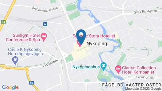Scandic Stora Hotellet Map