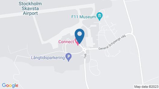 Connect Hotel Skavsta Map