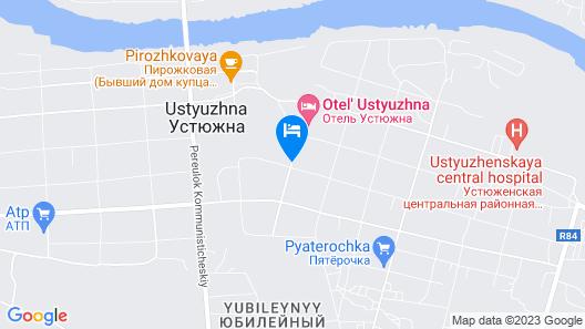 Ustyzhna Hotel Map