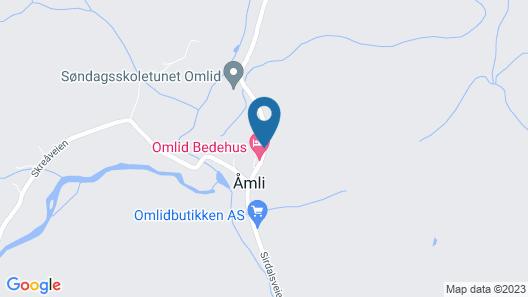 Sirdal Map