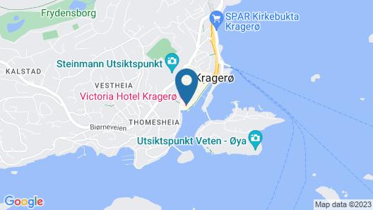 Victoria Hotel Map