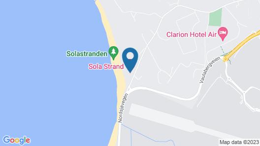 Sola Strand Hotel Map
